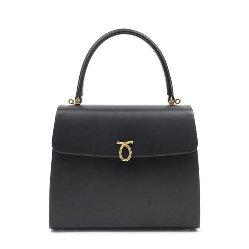 Encore Handbag, Black/Black