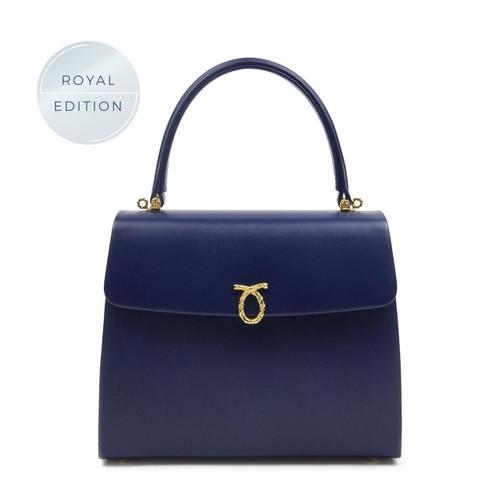 Encore Handbag, Ultra Marine/Black