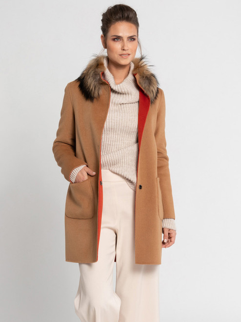 Schneiders Salzburg Elly in Spice/Camel with Fur