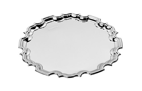 Chippendale Sterling Waiter