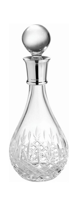 Crystal & Sterling Cut Decanter