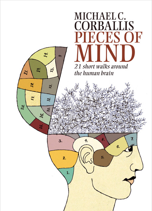 Pieces of Mind: 21 short walks around the Human Brain by Michael C. Corballis