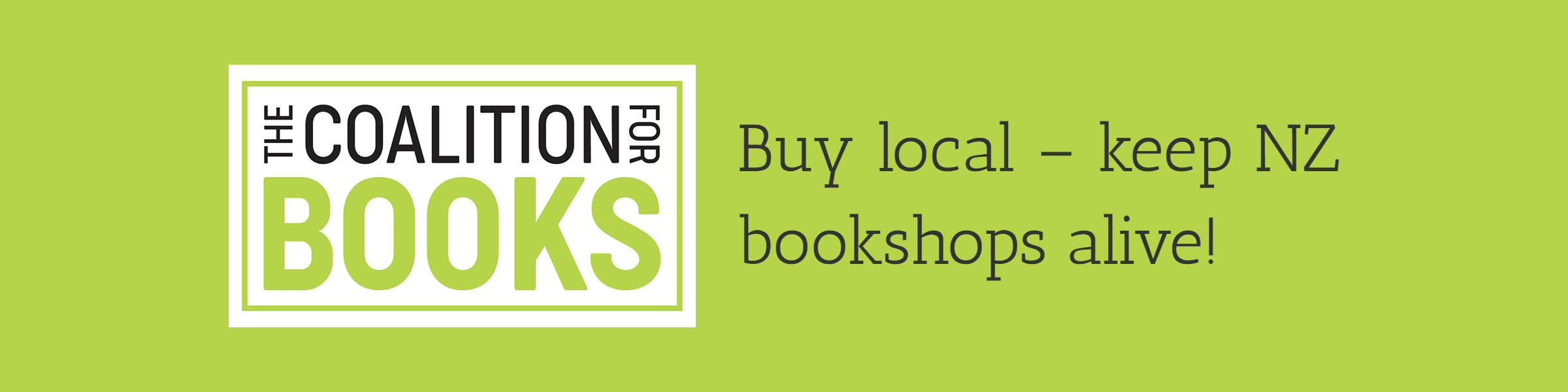 Buy books from your local bookseller.