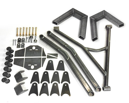 73-87 CHEVY 3 LINK KIT WITH NOTCHES - NFAMUS METAL