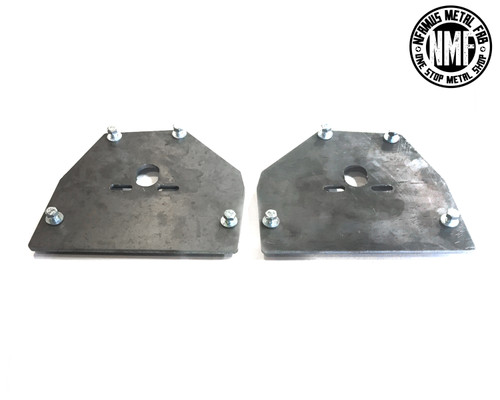 63-87 CHEVY FULL SIZE UPPER BAG PLATES