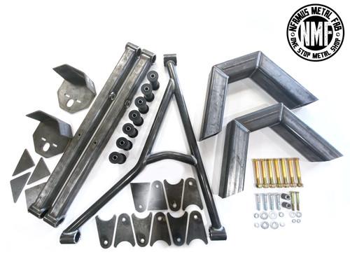 88-98 CHEVY 1/2 TON 3 LINK KIT WITH NOTCHES