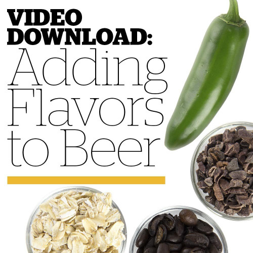 Adding Flavors to Beer DVD