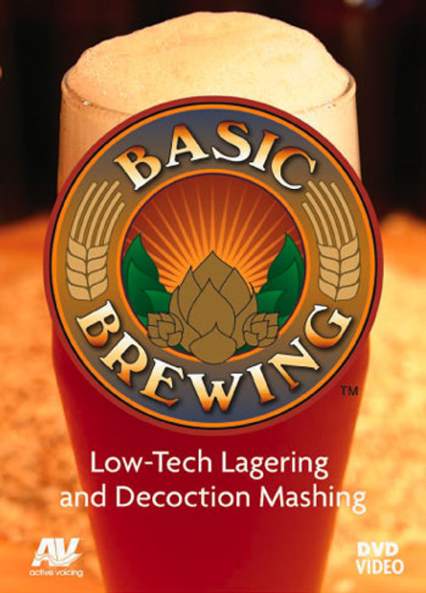 Basic Brewing Low-Tech Lagering and Decoction Mashing DVD