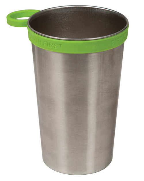 3f0d01e5155 Lifeline Fifty/Fifty 20 Oz. Stainless Steel Imperial Pint Cup - Home ...