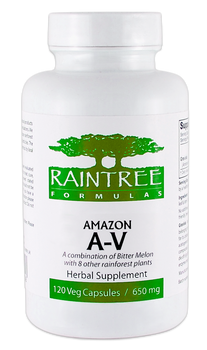 Amazon A-V - 120 Capsules by Raintree Formulas