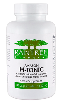 Amazon M-Tonic - 120 Capsules by Raintree