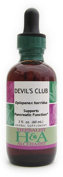 Devil's Club Liquid Extract by Herbalist & Alchemist