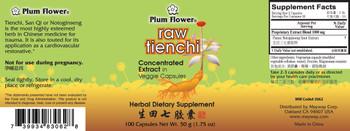 Tienchi Capsules - Raw