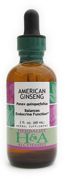 American Ginseng Liquid Extract by Herbalist & Alchemist