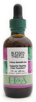 Blessed Thistle Liquid Extract by Herbalist & Alchemist