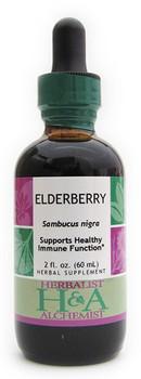 Elderberry Liquid Extract by Herbalist & Alchemist