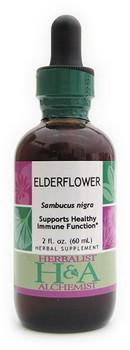 Elderflower Liquid Extract by Herbalist & Alchemist