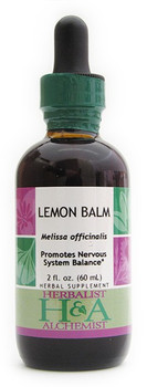 Lemon Balm Liquid Extract by Herbalist & Alchemist