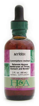 Myrrh Liquid Extract by Herbalist & Alchemist