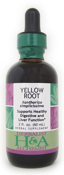 Yellow Root Liquid Extract by Herbalist & Alchemist