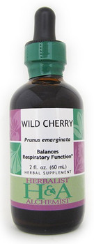 Wild Cherry Liquid Extract by Herbalist & Alchemist