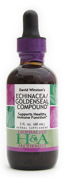 Echinacea/Goldenseal Compound 2 oz. by Herbalist & Alchemist
