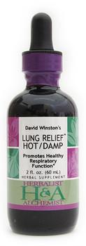 Lung Relief Hot/Damp 2 oz. by Herbalist & Alchemist