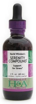Serenity Compound Liquid Extract by Herbalist & Alchemist