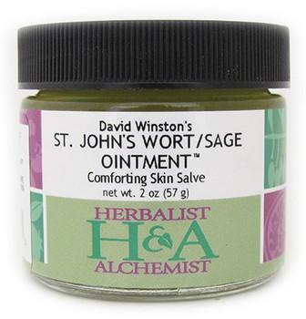 St. John's Wort/Sage Ointment 2 oz. by Herbalist & Alchemist