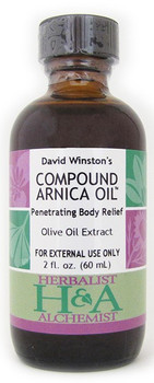 Compound Arnica Oil 2 oz. by Herbalist-Alchemist