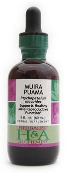 Northern Muira Puama Liquid Extract by Herbalist & Alchemist