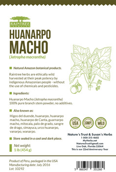 Huanarpo Macho Powder - 16 oz.