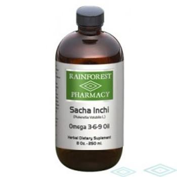 Sacha Inchi Oil - 8 oz. Rainforest Pharmacy