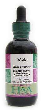 Sage Liquid Extract by Herbalist & Alchemist