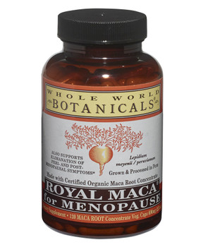 Royal MACA for Menopause - 120 Veg Caps by Whole World Botanicals