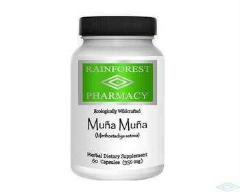 Muña Muña 60 Vegetarian capsules by Rainforest Pharmacy