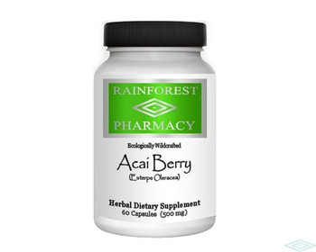 Acai 4:1 Extract 60 Vegetarian Capsules by Rainforest Pharmacy