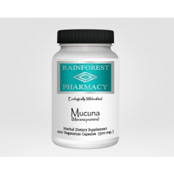 Macuna 100 Vegetable Capsules, Rainforest Pharmacy