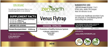 Venus Flytrap 1-oz Liquid Extract - Organic, Alcohol-Free