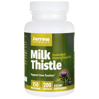 Milk Thistle Standardized Silymarin Extract 30:1 - 200-capsules