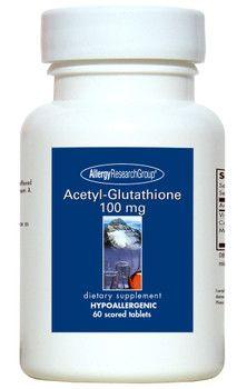 Acetyl-Glutathione 100 mg 60 Scored Tablets (Allergy Research Group)