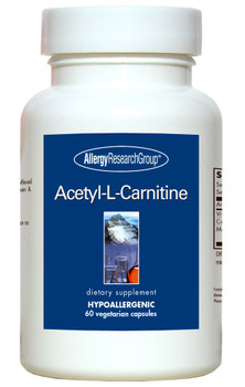 Acetyl-L-Carnitine 250 mg 60 Vegetarian Capsules (Allergy Research Group)