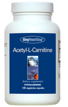 Acetyl-L-Carnitine 500 mg 100 Vegetarian Caps (Allergy Research Group)