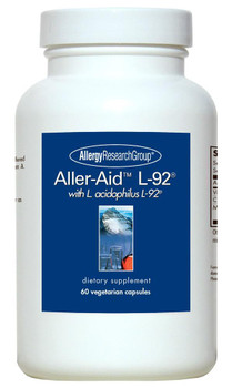 Aller-Aid L-92 60 Vegetarian Capsules (Allergy Research Group)