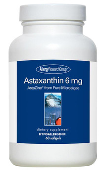 Astaxanthin 6 mg 60 Softgels (Allergy Research Group)