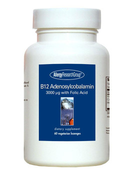 B12 Adenosylcobalamin 60 Vegetarian Lozenges (Allergy Research Group)