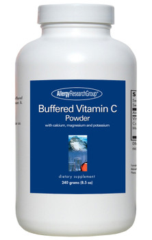 Buffered Vitamin C Powder 240 Grams (8.5 oz) (Allergy Research Group)