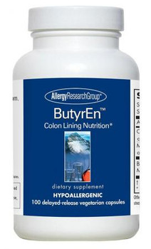 ButyrEn 100 Delayed-Release Vegetarian Capsules (Allergy Research Group)