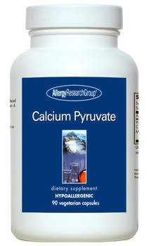 Calcium Pyruvate 90 Vegetarian Capsules (Allergy Research Group)
