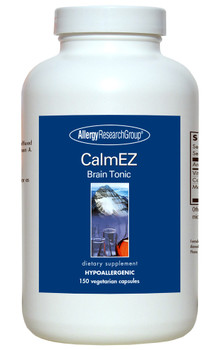 CalmEZ Brain Tonic 150 Vegetarian Capsules (Allergy Research Group)